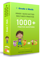 Grade 1 quick witted daily math practices