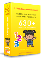 Kindergarten quick witted daily math practices
