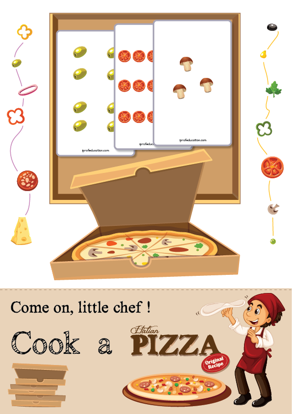 Pizza Chef's Recipe - number counting