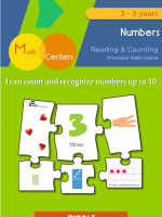 Simple Number Puzzle Game 1-10