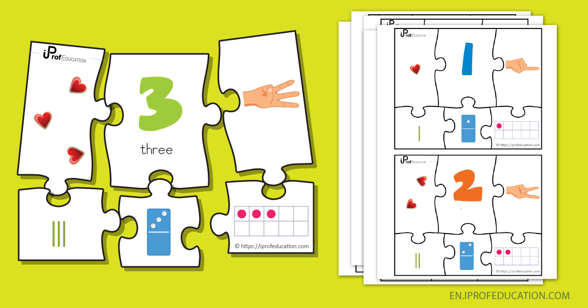 Simple Number Puzzle Game - number 3